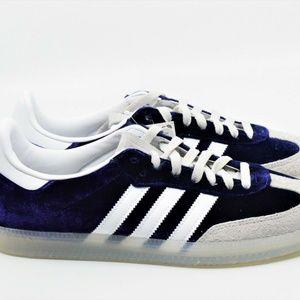 Adidas Samba OG Navy Velvet Suede Retro Size 9